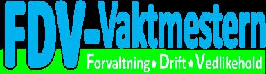 Logo FDV-vaktmesteren